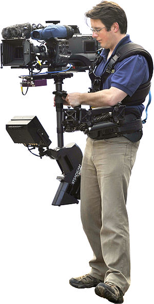 Image stabilization - A steadicam system