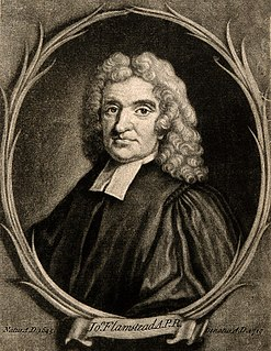 John Flamsteed English astronomer and the first Astronomer Royal