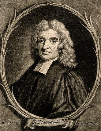 John Flamsteed - John Flamsteed by Godfrey Kneller, 1702