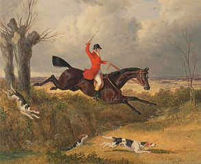 Foxhunting: Clearing a Ditch