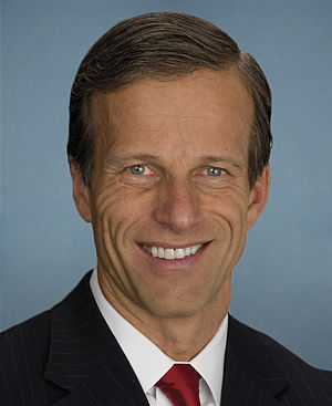 United States Senate election in South Dakota, 2016 - Image: John Thune, official portrait, 112th Congress