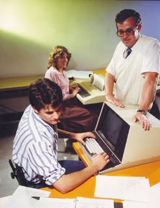Lions' Commentary on UNIX 6th Edition, with Source Code - John Lions with his students in 1980