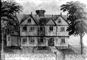 Cultural depictions of the Salem witch trials - Image: Jonathan Corwin house