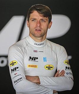 Jordan King British racing driver