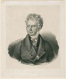 Georg Friedrich von Reichenbach, um 1825, Lithografie von Joseph Karl Stieler (Quelle: Wikimedia)