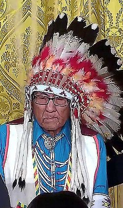 Joseph Medicine Crow-High Bird - Aug 12 2009 Presidential Medal of Freedom.jpg