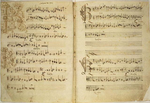 Encyclopedia Paraphrase Mas 15th Century In Music A Josquin