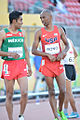 Juan Luis Barrios (Mexico) and Aaron Rono (USA), 2015 Pan Am Games.jpg
