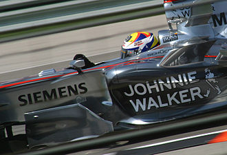 2006 United States Grand Prix - Juan Pablo Montoya was involved in an incident at the first corner of the race.