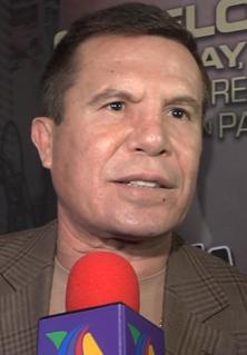 Julio César Chávez Mexican boxer