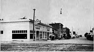 Junction City, Oregon - Junction City circa 1920