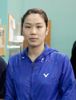 Jung Kyung-eun Badminton player
