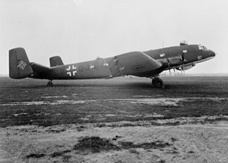 Junkers Ju 290 - Operational maritime patrol Junker Ju 290 A-3 used by FAGr 5 on the ground