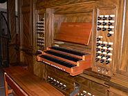 Justinuskirche Orgel Tastatur