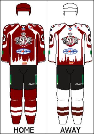 Dinamo Riga - Image: KHL Uniform DINR