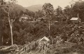KITLV - 79965 - Kleingrothe, C.J. - Medan - Hotel near a gorge, probably between Raub and Kuala Lipis - circa 1910.tif