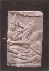 KITLV 87798 - Isidore van Kinsbergen - Relief from Prambanan, transferred to a museum in Yogyakarta - Before 1900.tif