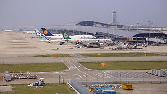 Kansai International Airport - Kansai International Airport with the terminal building in the background