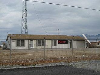 Art Bell - Broadcast facilities of KNYE in Pahrump, Nevada