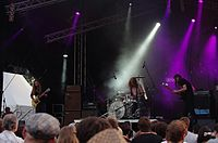 Kadavar (German Psychedelic Rock Band) (Krach Am Bach 2013) IMGP8926 smial wp.jpg