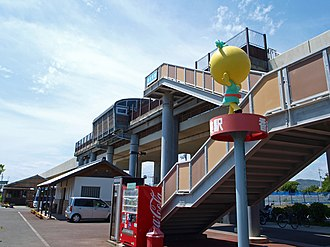 Kagami Station - Kagami Station in 2010