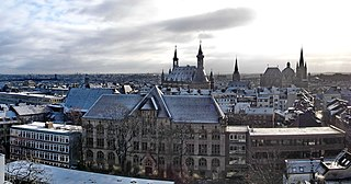 Aachen Place in North Rhine-Westphalia, Germany