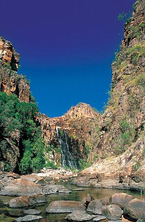 Twin Falls (Northern Territory) - Image: Kakadu 2455