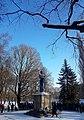 Kalevipoja monument (Tartu Vabadussõja mälestussammas) 24. veebruari hommikul 2018. aastal.jpg