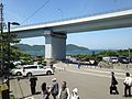 Kameura Bridge of Kobe-Awaji-Naruto Expressway and Shimadajima Island from Naruto Park.jpg