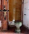 Kamień Pomorski, konkatedra św. Jana Chrzciciela, przedsionek, kropielnica-dawna chrzcielnica.jpg