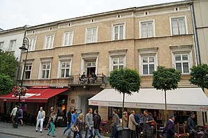 Louis Marie Raymond Durand - Nowy Świat Street 34, a building occupied by Durand's consulate in 19th century, modern view