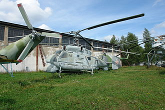 Kamov Ka-25 - Soviet Navy Ka-25 at the Monino Central Air Force Museum outside Moscow.