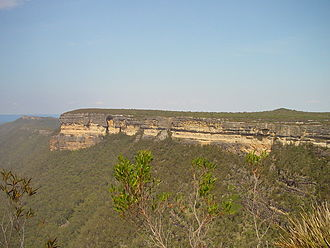 Greater Blue Mountains Area - Image: Kanangra Walls 2002