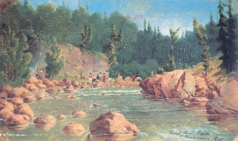 Datei:Kane French River Rapids.jpg
