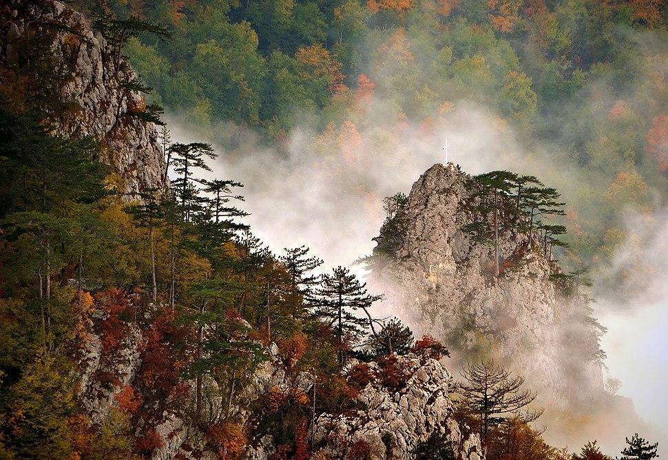 Kanjon Rače sa vidikovca Crnjeskovo, Nacionalni park Tara