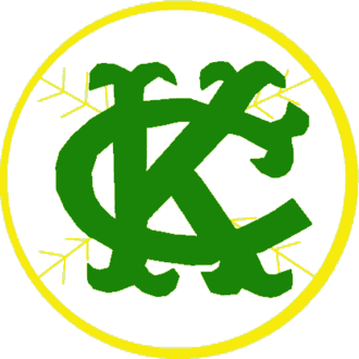 History of the Oakland Athletics - Kansas City Athletics logo 1963 to 1967