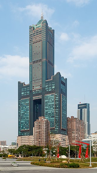 85 Sky Tower - Image: Kaohsiung Taiwan Kaohsiung 85 Building 01