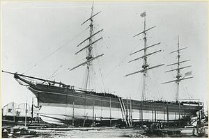 Kapunda (ship) - Kapunda, about 1880