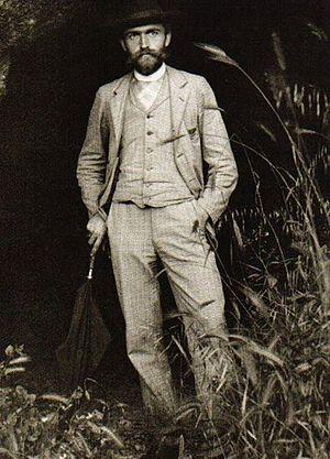 Karl Blossfeldt - Karl Blossfeldt in 1895