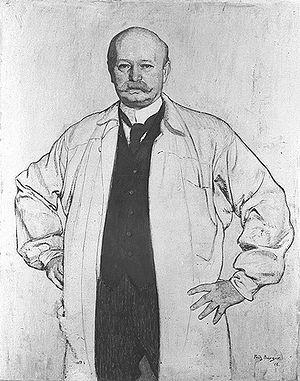 Ludwig Manzel - Ludwig Manzel (1912), by Fritz Burger (1877-1916), the art historian.