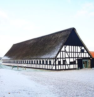 Karlsladen - Karlsladen is a barn from 1727, turned into a visitors centre for National Park Mols Bjerge in 2013.