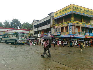 Karukachal Village in Kerala, India