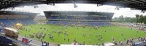 Kassam Stadium - Panoramic view of the Kassam Stadium