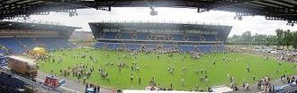 Oxford United F.C. - Panoramic view of the Kassam Stadium