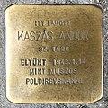 Kaszás Andor stolperstein (Budapest-13, Pannónia utca 50.).jpg