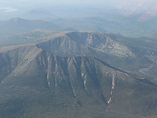 Mount Katahdin highest mountain in the US state of Maine