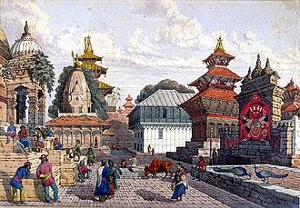 Kathmandu - Kathmandu Durbar Square, 1852