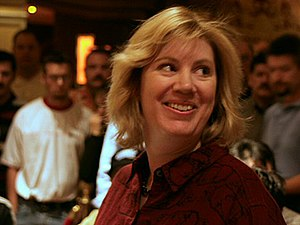 Kathy Liebert - Liebert at the Festa al Lago World Poker Tour 2004