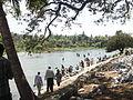 Kaveri river near Gosai Ghat, Mysore, Karnataka, India.JPG