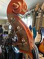 Kay S-51 5 string Bass Viol SN7496 (c.1940) pegbox.jpg